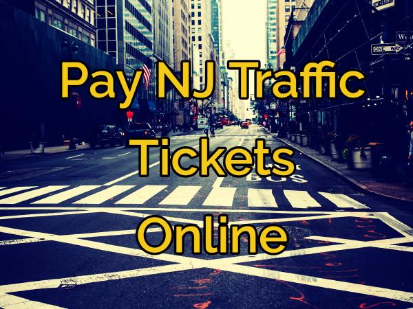 Pay NJ Traffic Tickets Online